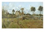 Landscape  Pontoise  1875