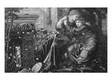 Love Among the Ruins  1894  Engraved by M Dormoy