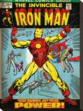 Iron Man (Birth Of Power) Tableau sur toile