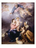 The Holy Family  Called the Virgin of Seville  1670
