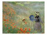 Les Coquelicots  Environs D'Argenteuil  Poppies Near Argenteuil  1873  Detail