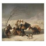 La Nevada or El Invierno  the Snowfall or Winter  1786-7