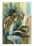 Jeunes Filles Au Piano  Young Girls at the Piano  C 1892