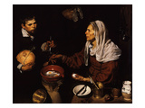 Old Woman Frying Eggs  1618
