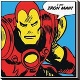 Iron Man (I Am) Tableau sur toile