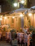 A Restaurant in Vicoli in Trastevere