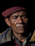 A Metal Worker from the Small Village of Philm in the Manaslu Region