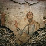 A 4th-Century Fresco of the Apostle Paul Preaching