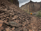 Hiking in the Owyhee River Canyon
