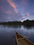 A Canoe on Maine's Allagash River