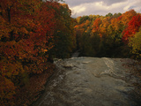 Cuyahoga River  as Seen from the Top of Brandywine Falls