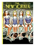 The New Yorker Cover - July 31  1943