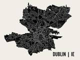 Dublin Reproduction d'art par Mr City Printing