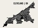 Cleveland Reproduction d'art par Mr City Printing