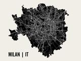 Milan Reproduction d'art par Mr City Printing