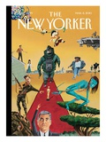 The New Yorker Cover - March 8  2010