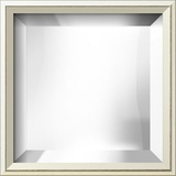 EASTMAN Ivory Thin Mirror