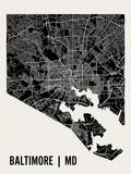 Baltimore Reproduction d'art par Mr City Printing