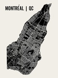 Montréal Reproduction d'art par Mr City Printing