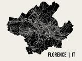 Florence Reproduction d'art par Mr City Printing