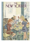 The New Yorker Cover - April 17  1954