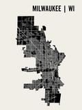 Milwaukee Reproduction d'art par Mr City Printing