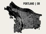 Portland Reproduction d'art par Mr City Printing