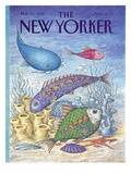 The New Yorker Cover - March 23  1992