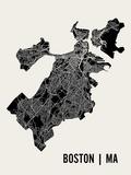 Boston Reproduction d'art par Mr City Printing