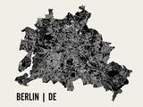 Berlin Reproduction d'art par Mr City Printing