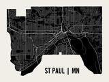 St Paul Reproduction d'art par Mr City Printing