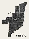 Miami Reproduction d'art par Mr City Printing