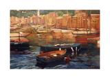 Anchored Boats  Portofino
