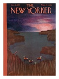 The New Yorker Cover - December 6  1952