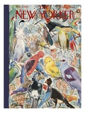 The New Yorker Cover - May 5  1956