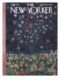 The New Yorker Cover - July 6  1957