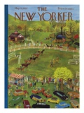 The New Yorker Cover - May 11, 1957 Giclée premium par Ilonka Karasz