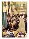 The New Yorker Cover - November 4  1950