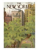The New Yorker Cover - July 31, 1954 Giclée premium par Edna Eicke