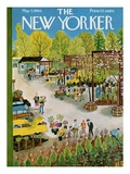 The New Yorker Cover - May 7  1960