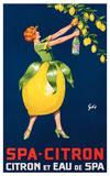 Spa-Citron Citron et Eau de Spa  ca 192