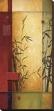 Danse de jardin I Tableau sur toile par Don Li-Leger