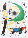 Litografia original V Reproduction pour collectionneurs par Joan Miró