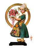"""Easter Dutch Girl ""April 3  1926"