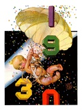 """Parachuting Baby New Year ""December 28  1929"