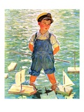 """Toy Sailboats ""June 24  1933"