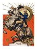 """""""George Washington on Horseback """"July 2  1927"""