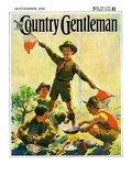 """""""Boy Scouts """" Country Gentleman Cover  September 1  1930"""