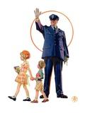 """""""Policeman and School Children """"October 3  1931"""
