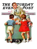 """Penny Candy "" Saturday Evening Post Cover  August 19  1939"